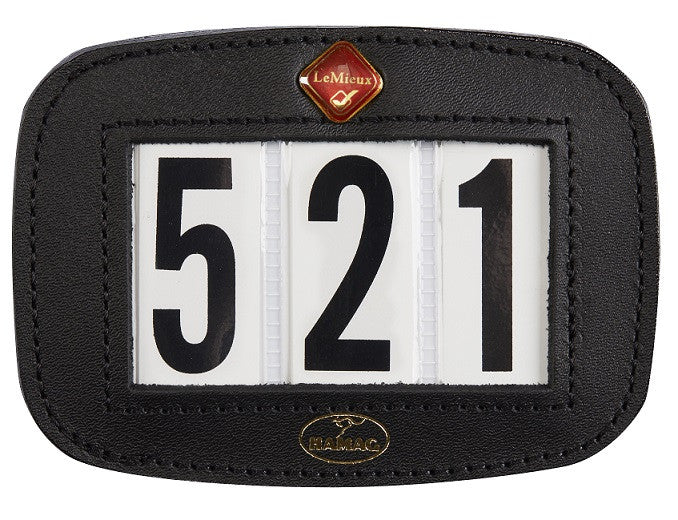 LeMieux Hamag Bridle Number Holder (Square)  - Eqclusive
