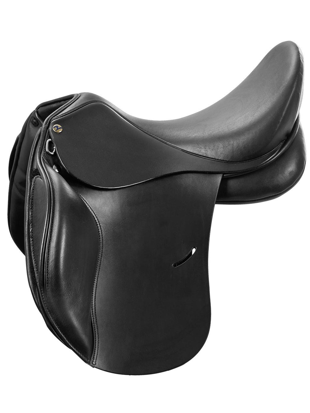 BUSSE Saddle BASEL-FLEXI, black, short flaps