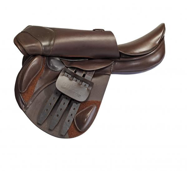 BUSSE Saddle BRISBANE 16.5 / Brown / M - Eqclusive  - 2
