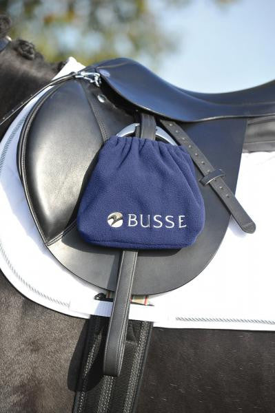 BUSSE Stirrup Cover BUSSE Navy - Eqclusive