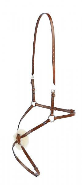 BUSSE Cross-over Noseband SALERMO Cob/Full / Hazel - Eqclusive  - 2