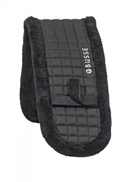 BUSSE Lunging Pad PLUSH 80x15 / Black - Eqclusive  - 1