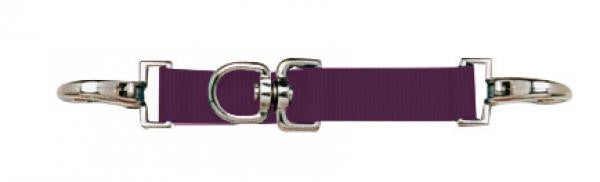 BUSSE Lunging Strap NYLON Burgundy - Eqclusive  - 4