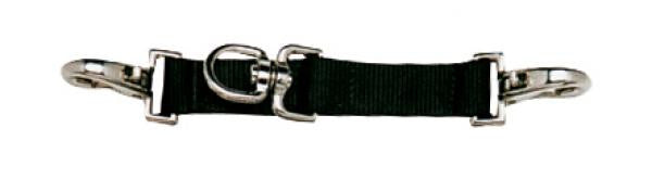 BUSSE Lunging Strap NYLON Black - Eqclusive  - 2