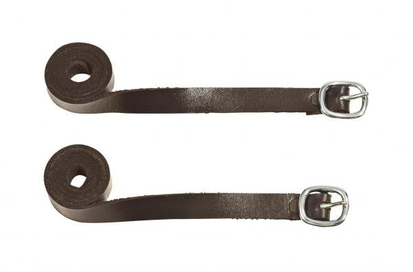 BUSSE Spur Straps LEDER Dark brown/Stainless steel - Eqclusive  - 2