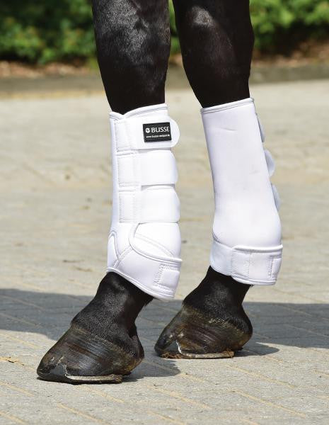 BUSSE Tendon Boots BASIC S / White - Eqclusive  - 1