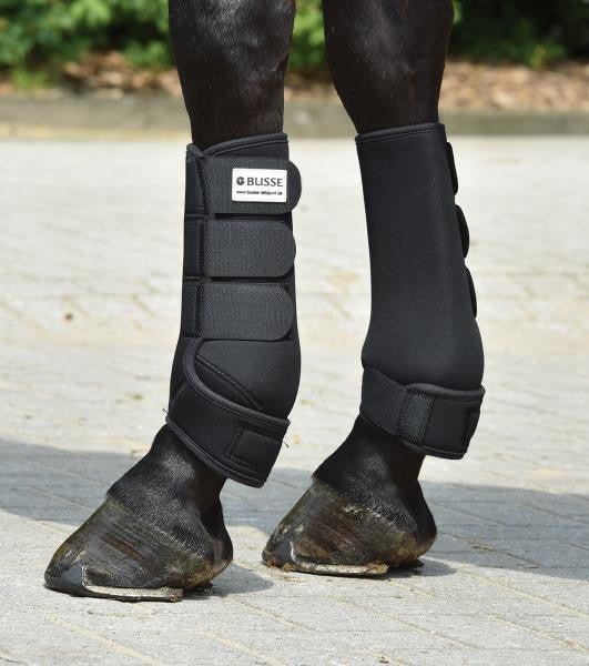 BUSSE Tendon Boots BASIC S / Black - Eqclusive  - 2