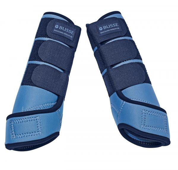 BUSSE Tendon Boots BASIC S / Cyan/Navy - Eqclusive  - 4