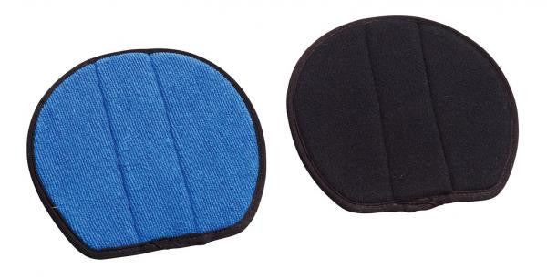 BUSSE Replacement Pads for Hoof Cover SAFETIES PRO® S / Black/Blue - Eqclusive