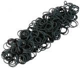 BUSSE Elastic Rubberbands Plaiting STANDARD 50 / Black - Eqclusive  - 2