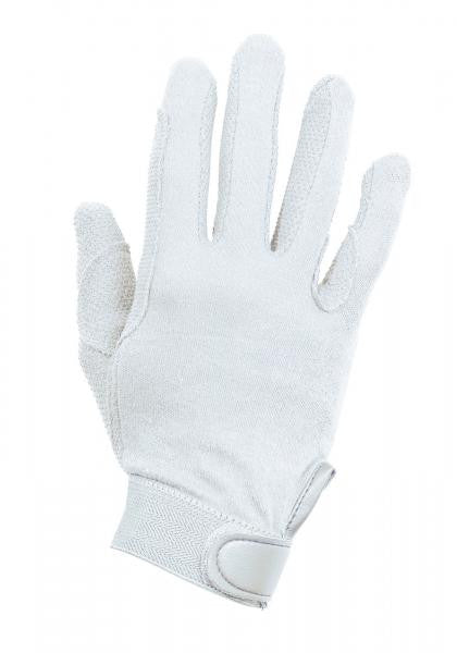 BUSSE Riding Gloves BAUMWOLLE XXS / White - Eqclusive  - 2
