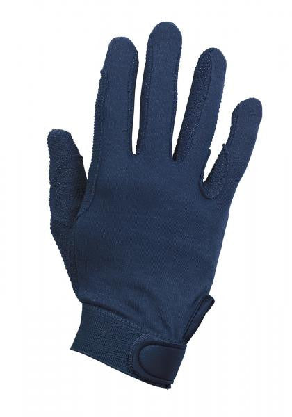 BUSSE Riding Gloves BAUMWOLLE XXS / Navy - Eqclusive  - 6