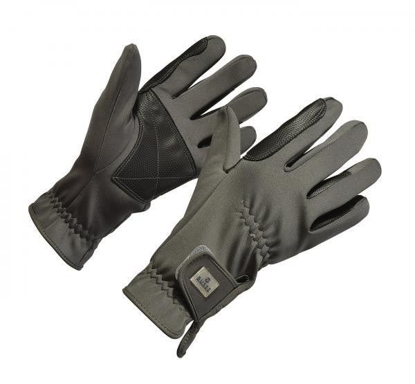 BUSSE Winter Gloves SOFTSHELL XS / Grey - Eqclusive  - 3