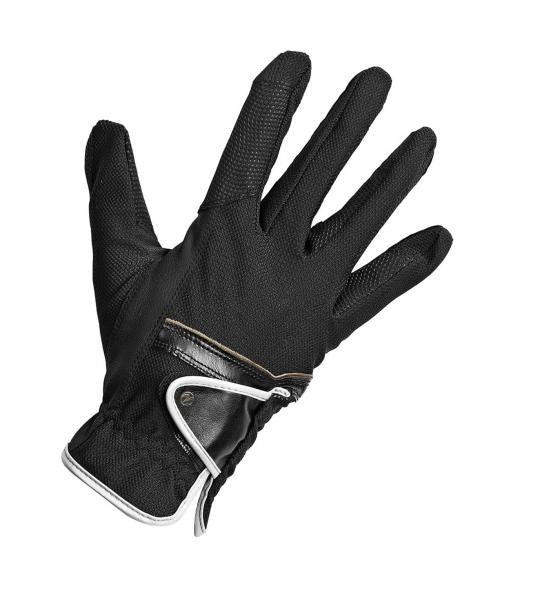 BUSSE Riding Gloves SUMMER XS / Black - Eqclusive  - 2