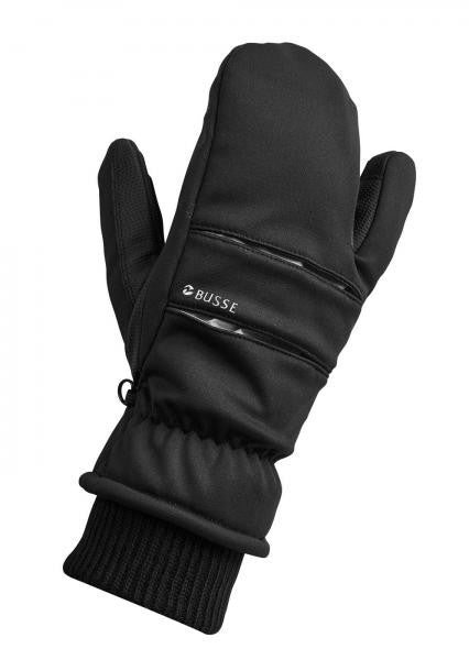 BUSSE Winter Gloves LENNOX-SOFT XS / Black - Eqclusive  - 1