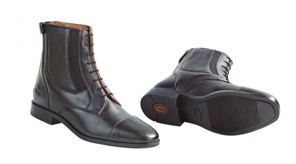 BUSSE Jodhpur-Boots STYLE TWICE 36 / Black (Brown) - Eqclusive  - 2