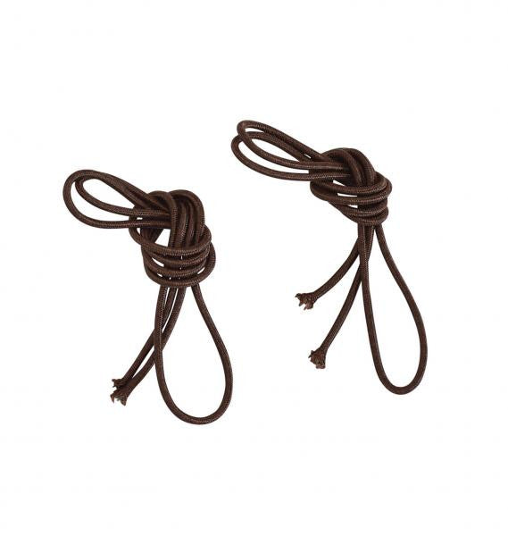 BUSSE Laces ELASTISCH 60 cm / Dark brown - Eqclusive  - 2