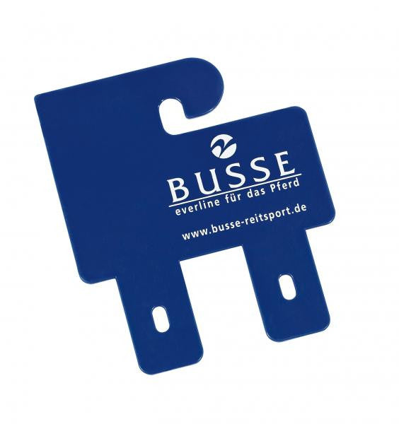 BUSSE Hanger for Saddle Girths BUSSE 10x12cm / Blue - Eqclusive