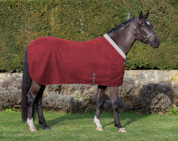 LeMieux Four Seasons Rug M / Burgundy - Eqclusive  - 5