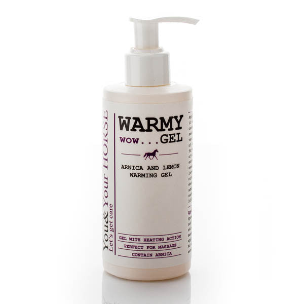 YOU & YOUR HORSE wow... WARMY GEL ARNICA AND LEMON WARMING GEL 200ml - Eqclusive