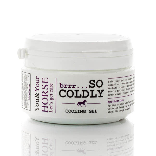 YOU & YOUR HORSE brrr... SO COLDLY COOLING GEL  - Eqclusive