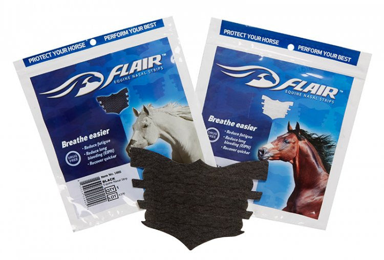 Flair Nasal Strips Black 10 Pack / Black - Eqclusive