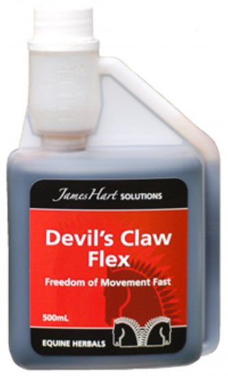 James Hart Devil's Claw Flex 500ml - Eqclusive