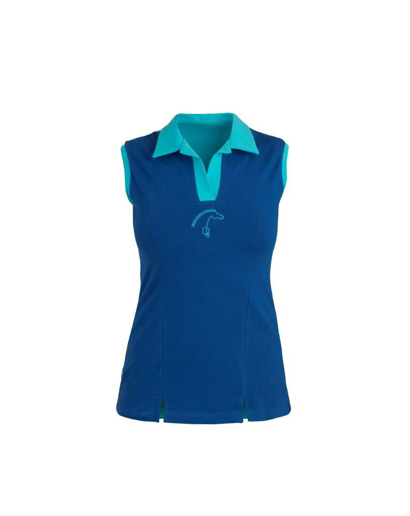 OF HORSE Oh over the moon sleeveless polo  - Eqclusive  - 1