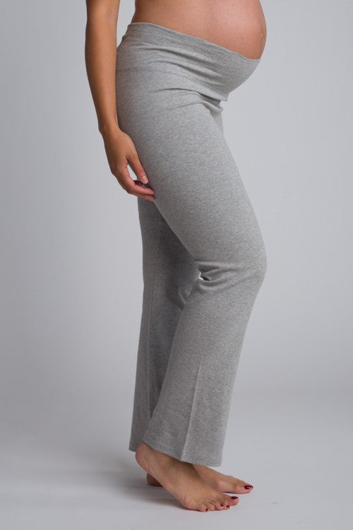 fold over maternity yoga pants