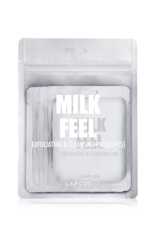 Milk Feel Exfoliating and Cleansing pad - 5 pack