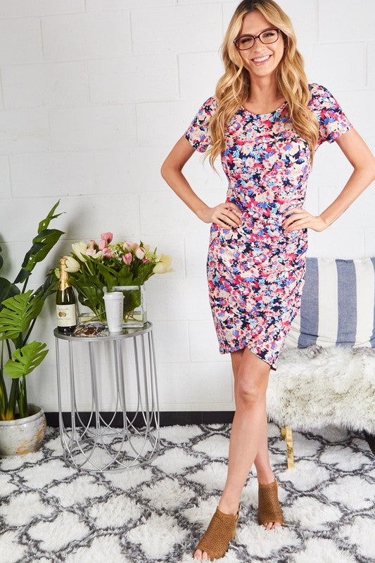 Floral Kate mini dress