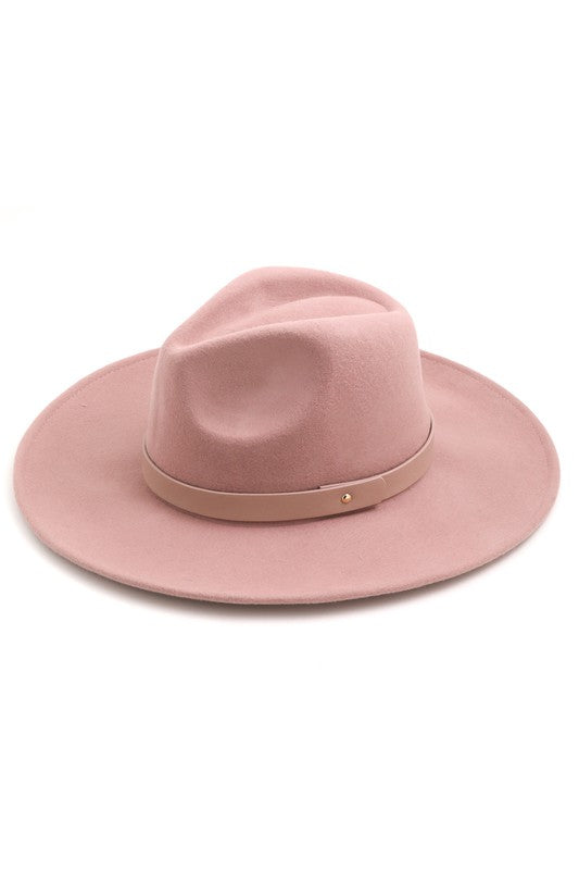 hey girl mauve hat