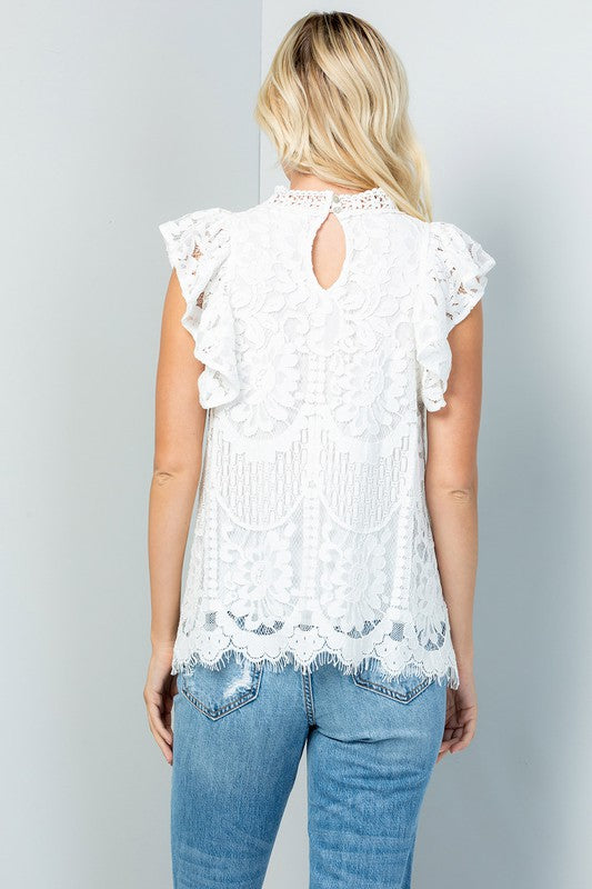 Blossom Lace Top