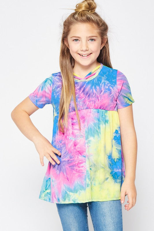 Tiedye Little Sora Top