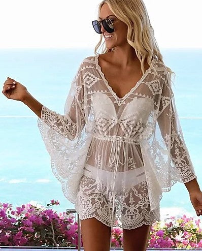 Melody Lace Cover-up