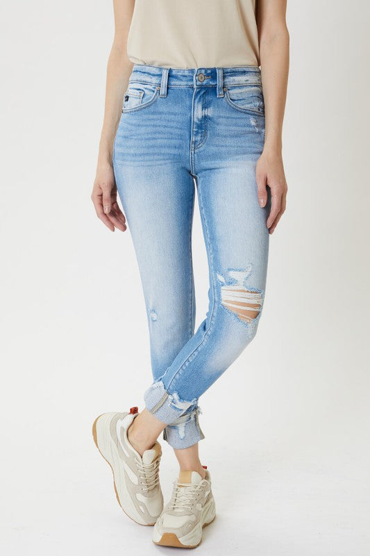Hailey Ankle Skinny Jeans