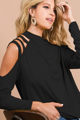Lexi Lady Shoulder Strap Top