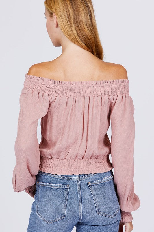Allison Cold- Shoulder