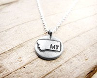 MT State Coin Necklace