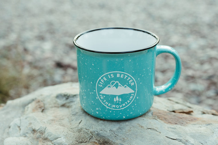 Life is Better in the Mountains Mug