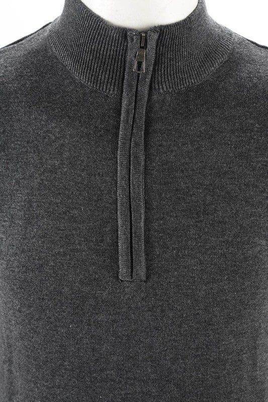 Liam zip sweater