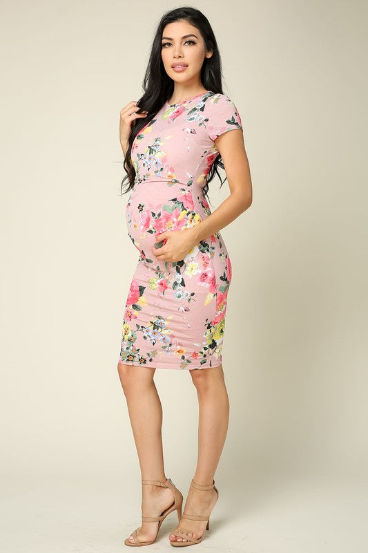 Flower Mama Bodycon Dress