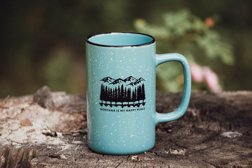 Montana is My Happy Place Mug