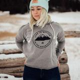 Life is Better in the Mountains Crop Hoodie