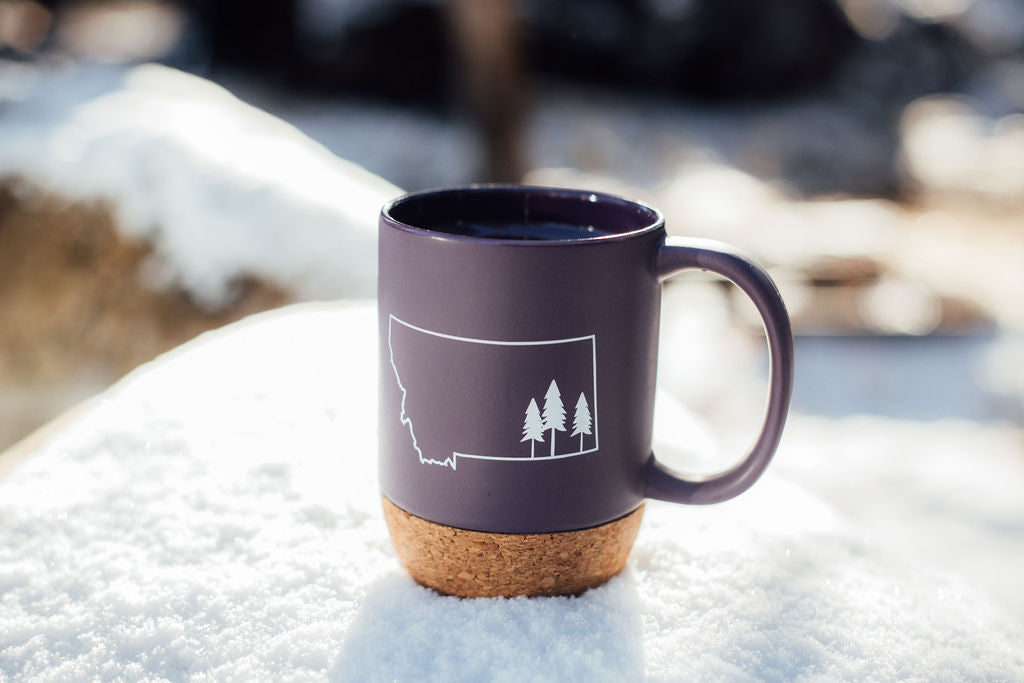 tree outline cork-mug