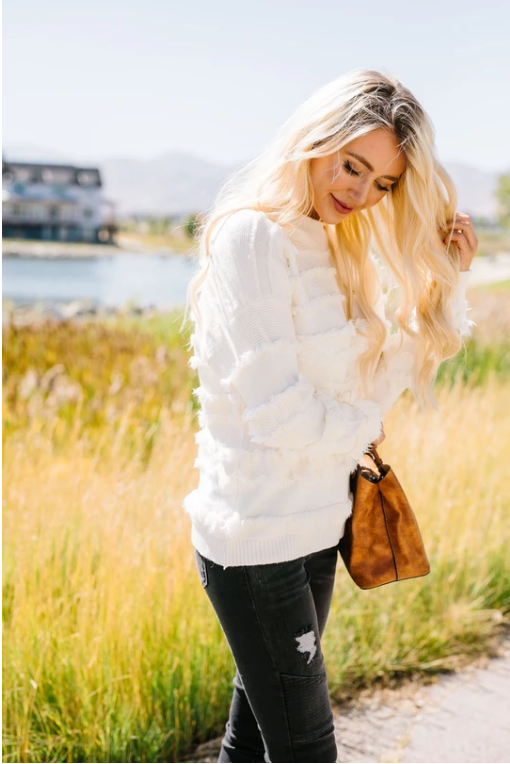 Layers Of Fringe Sweater