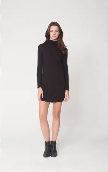 Hanworth Jersey Dress - Black