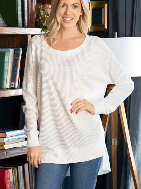 Avery Top - Ivory