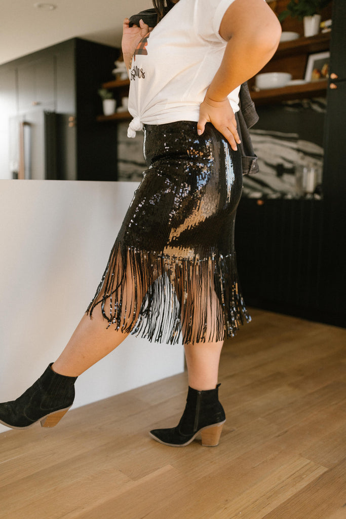 Sierra Sequin Skirt