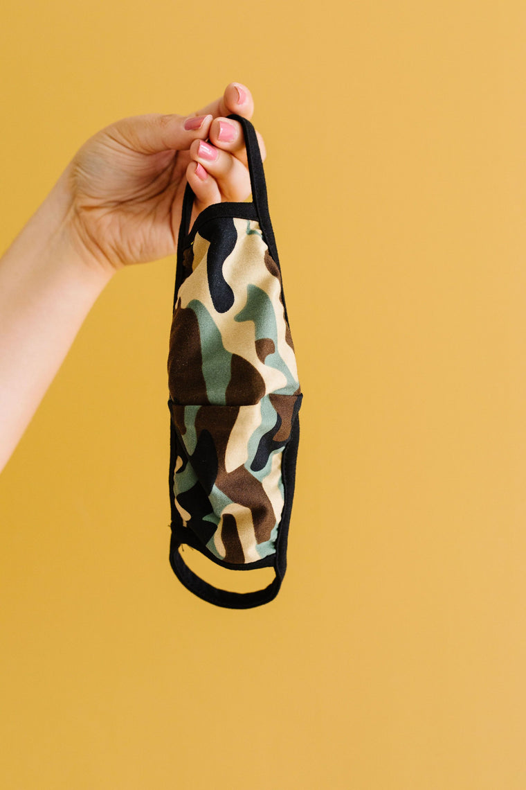 Hide Away Camouflage Face Cover